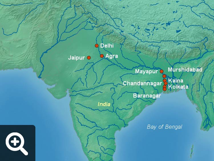 Map Of Asia Ganges River.Ganges River Cruises Cruise Destinations Luxury Travel Team