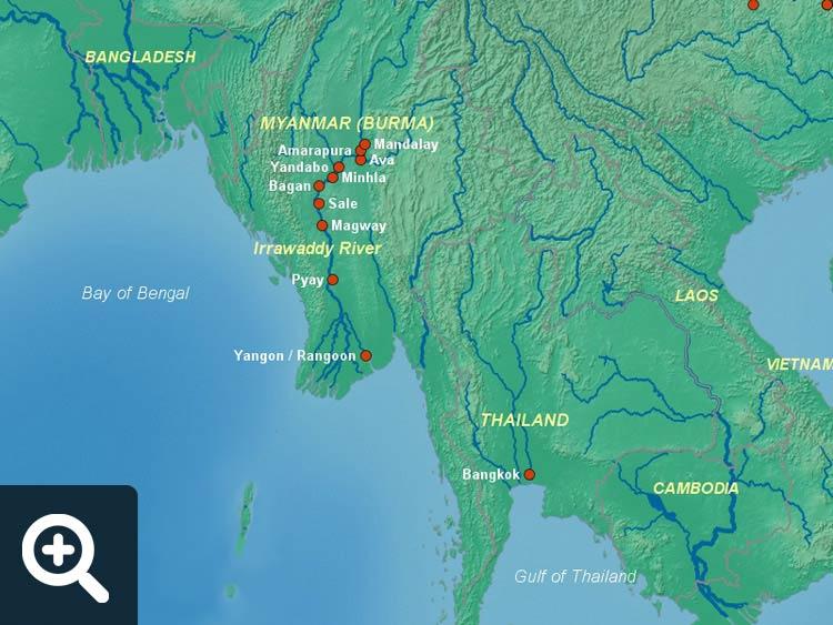 Myanmar Cruises | Cruise Destinations | Luxury Travel Team